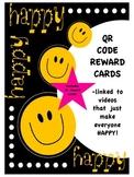 Feeling Happy QR Code Reward Cards