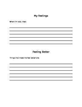 Feeling Poorly Booklet