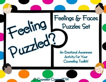 Feeling Puzzled? Feelings & Faces Puzzles Set