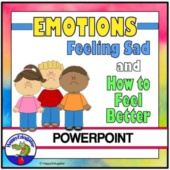 Feeling Sad - How to Feel Better PowerPoint