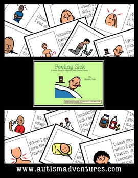 Feeling Sick- Social Story for Students with Special Needs