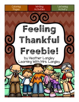 Feeling Thankful Freebie!