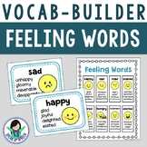 Vocabulary Builder - Feeling Words