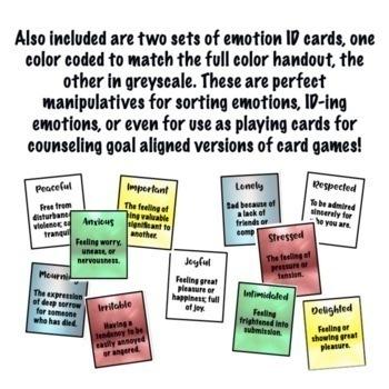 Emotional Identification & Feeling Words for Teens: Coping Skills, Mental Health