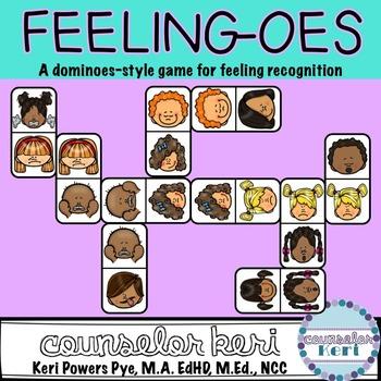 Feelings Dominoes: Emotions Counseling Game