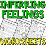 Feelings and Emotions Making Inferences Worksheets (EASEL Compatible)