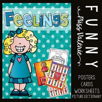 Feelings - Poster Set + Games