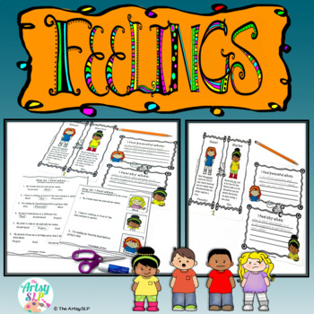 Feelings Activities for Identifying Feelings and Emotions