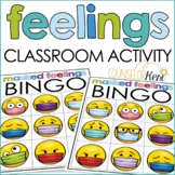 Feelings Activity Counseling Classroom Guidance Lesson Emo