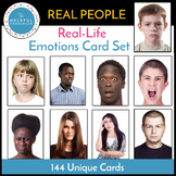 Feelings Activity: Emotion Card Set with REAL PEOPLE!