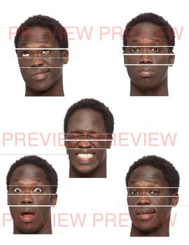 Feelings Activity: Facial Expressions Puzzle Set