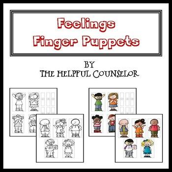 Feelings Activity: Feelings Puppets
