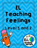 Feelings Activity: Level 1 and 2 [Differentiated Activitie