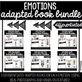 Feelings Adapted Book Bundle | 18 Differentiated Versions!