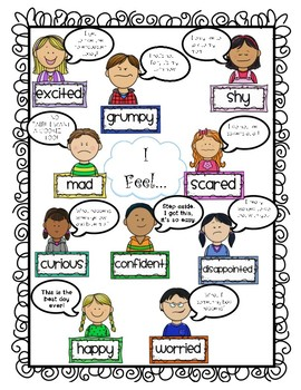 Feelings-Anchor Chart