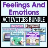 Feelings And Emotions Activities Bundle (Save 20%!)
