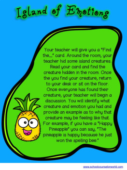 A Guidance Lesson on Feelings Are Real, Grades K-1