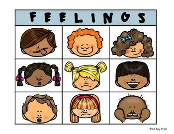 Feelings BINGO
