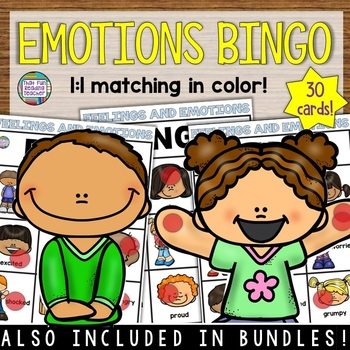 Feelings and Emotions Activities | BINGO