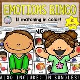 Identifying Feelings and Emotions Activity: Bingo Game K-1