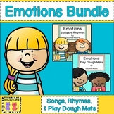 Emotions BUNDLE: Songs & Rhymes, Circle Time + Play Dough Mats!