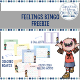 Feelings Bingo Freebie