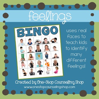 Feelings Bingo Game