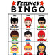 Feelings Emotions Bingo Game - Superhero Themed