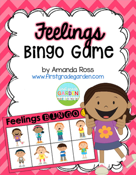 Feelings Bingo {Small Group Health or Social Studies Activity}