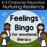 Feelings Bingo for Emotional Literacy