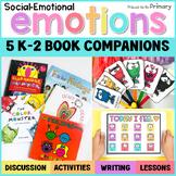 Emotions Book Companion - Social Emotional - Distance Lear