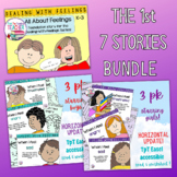 Feelings and Emotions Storybook lessons bundle