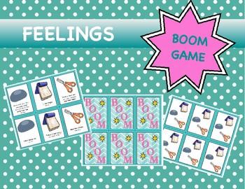 Feelings Game:  Boom