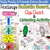 Feelings Bulletin Board - Clip Chart - Listening Activity Bundle