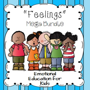 Feelings Mega Bundle... Emotional Education for Kids