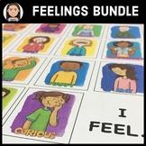 Feelings Bundle:  Identifying & Exploring Emotions for Social Emotional Learning