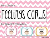 Feelings Cards for Special Education
