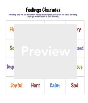 Feelings Charades