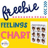 FREE Feelings Chart