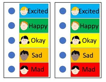Feelings Chart Check In
