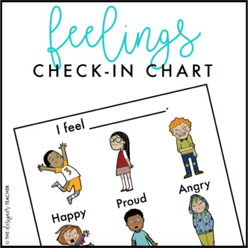 Feelings Check-In Chart FREEBIE