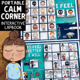 Feelings Check-In & Self-Regulation Calm Corner Lap Book w/ Mindfulness Tools