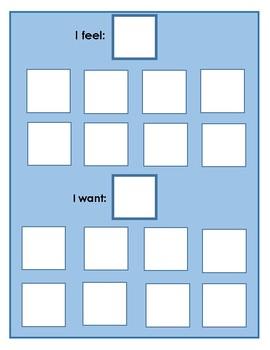 Feelings Choice Board