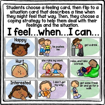 Feelings, Choices, & Coping Strategies Counseling Game!