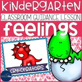 Feelings Classroom Guidance Lesson for Early Elementary School Counseling
