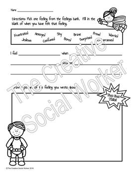 Feelings Classroom Lesson 4-Pack