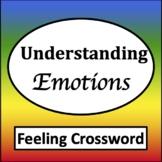 Feelings Crossword Puzzles [Zones of Self Regulation Activities]