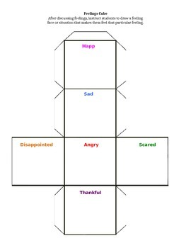 Feelings Cube