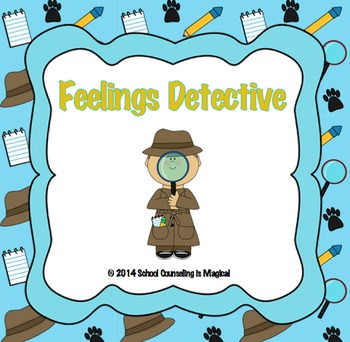 Feelings Detective Activity Pack
