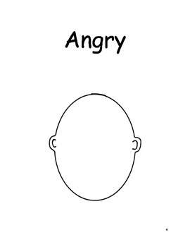 Feelings: Draw the emotion on each face